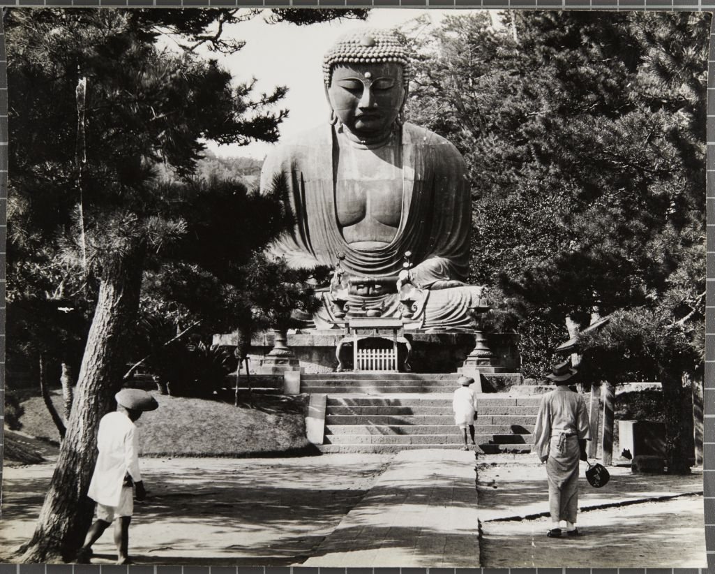 The great Buddha at Kamakura