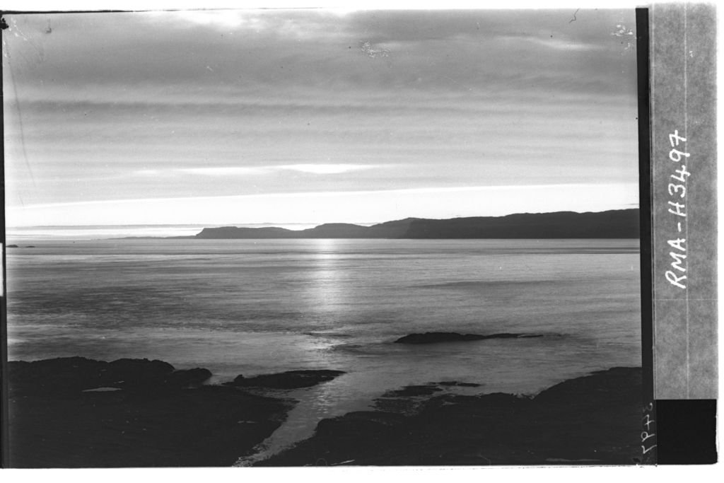 Sunset over Mull (mid stage).