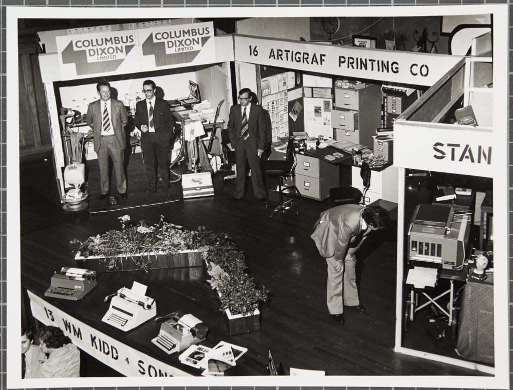 St Andrews Junior Chamber of Commerce - Exhibition of office equipment in Younger Hall