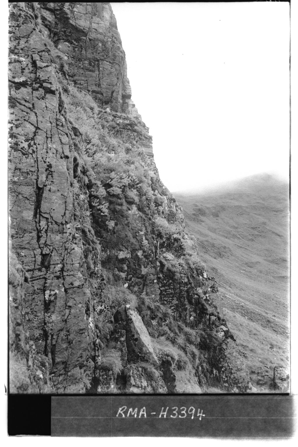 Chno Dearg cliffs.