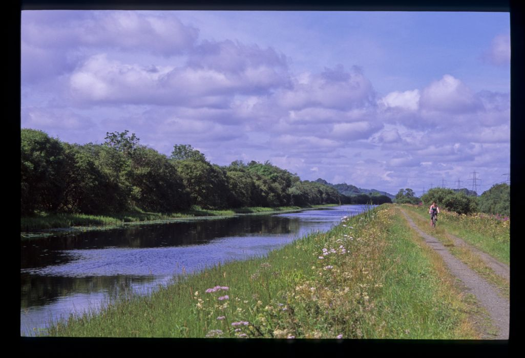 The long Dullatur Bog length, Forth and Clyde canal.