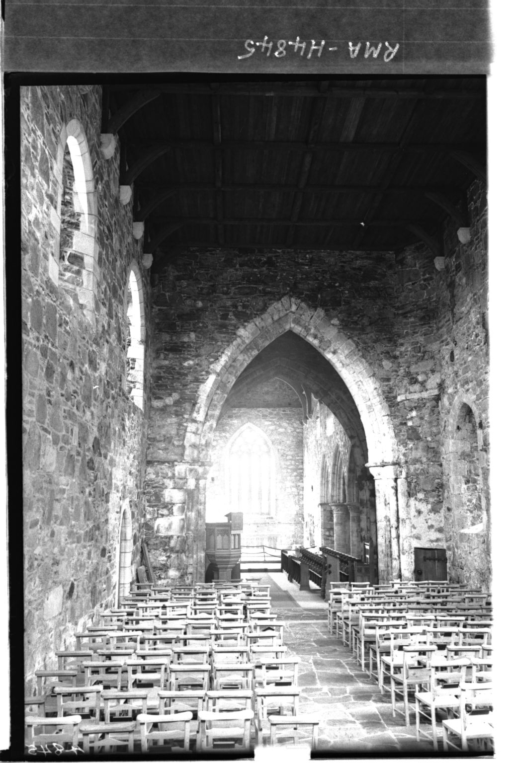 The Nave, Iona Abbey.