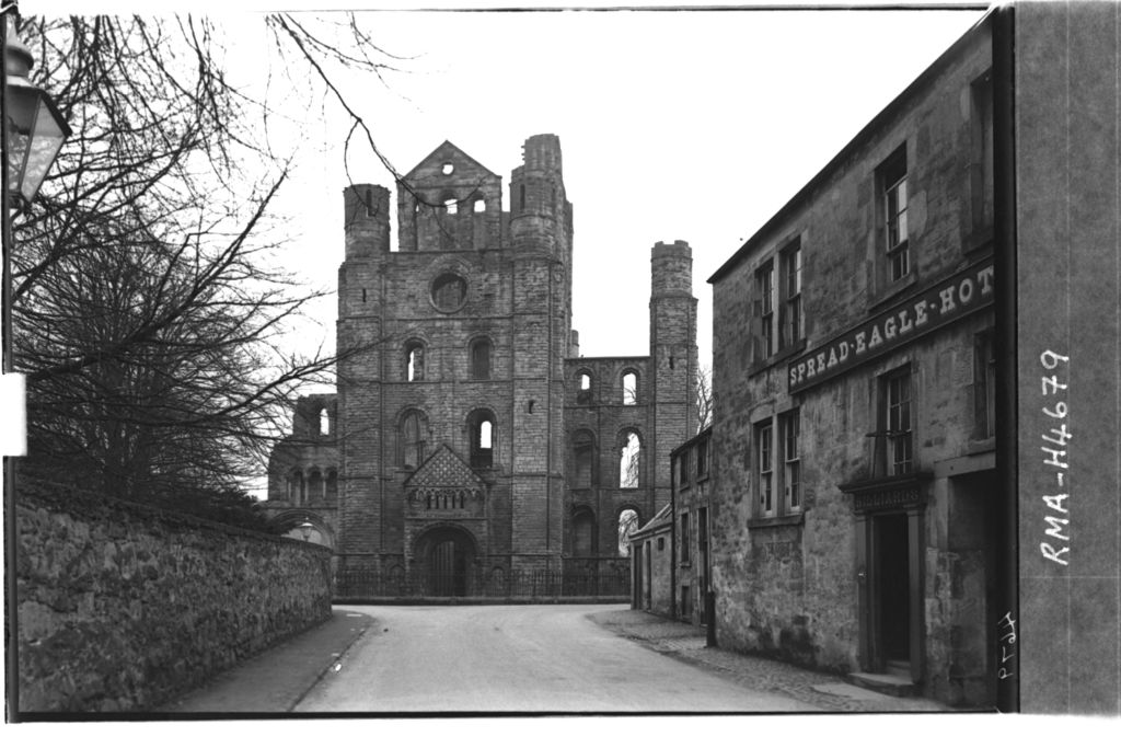 Kelso Abbey from east.
