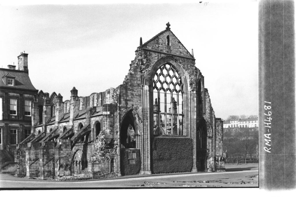 Holyrood Abbey, Edinburgh.