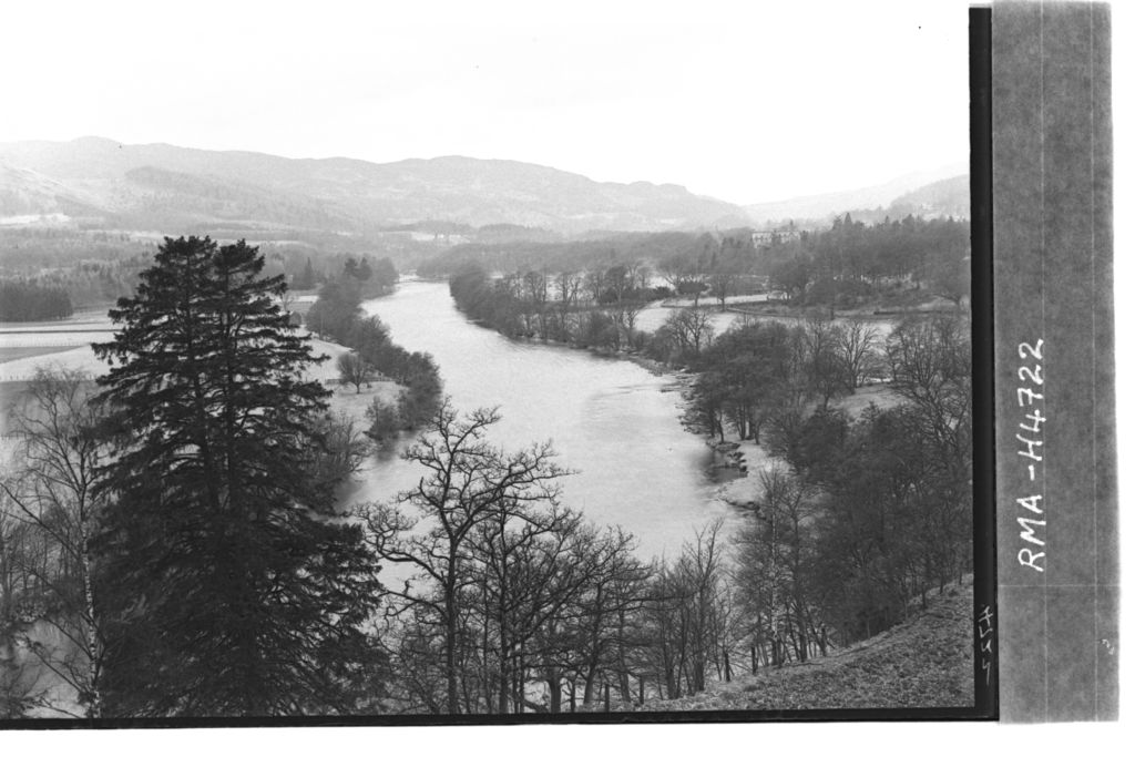 River Tummel from Dunavourd.