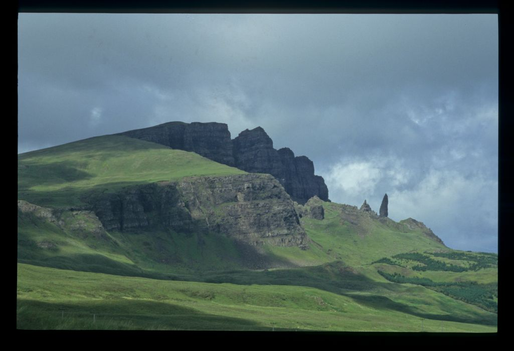 The Storr from the south, Skye.