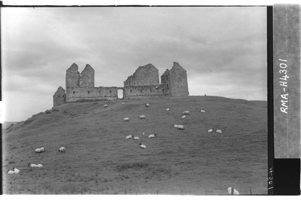 Ruthven Barracks, Kingussie.