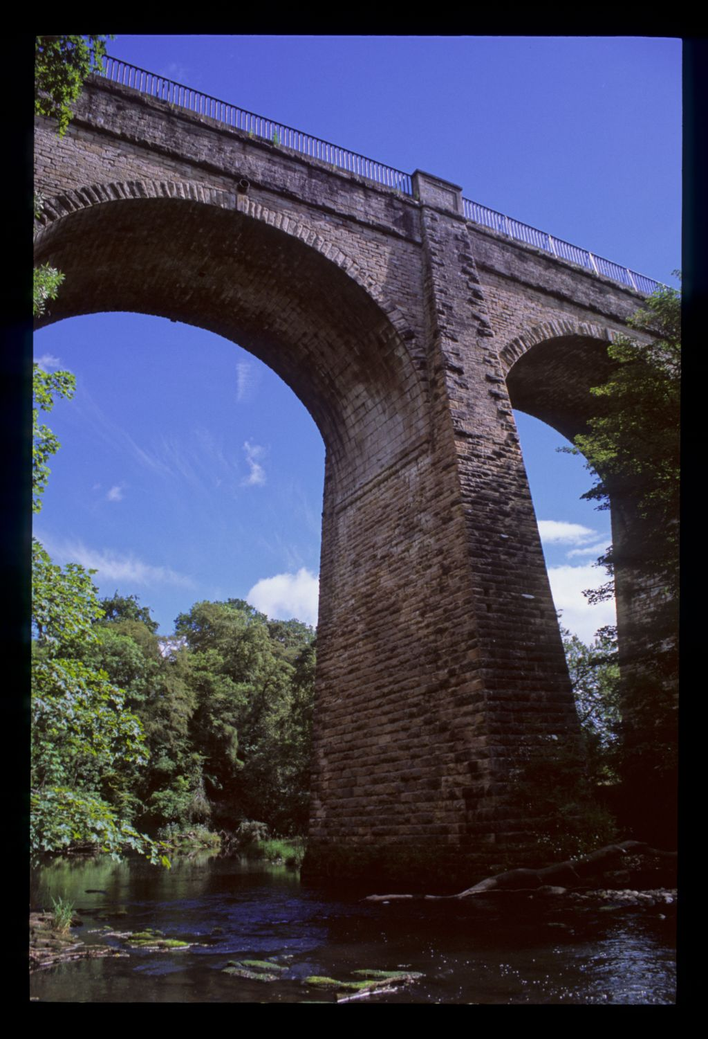 The Avon Aqueduct arches, Union Canal [near Linlithgow].