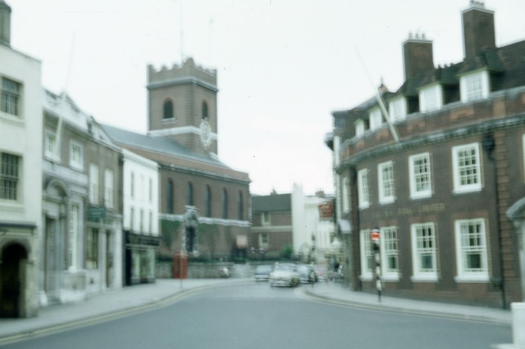 Street scene within Guildford, Surrey
