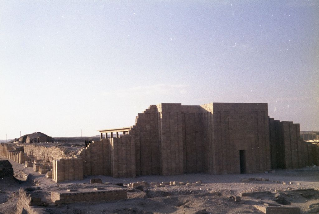 Exterior of the Saqqara temple
