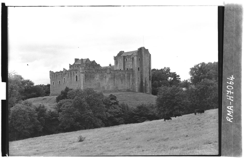 Doune Castle from the east.