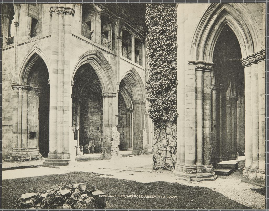 Nave and Aisles, Melrose Abbey