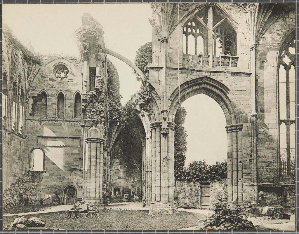 Melrose Abbey, North Transept