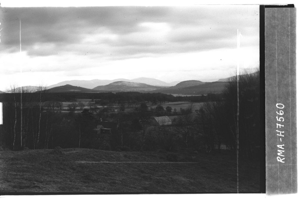 Strathspey and Glen More hills.