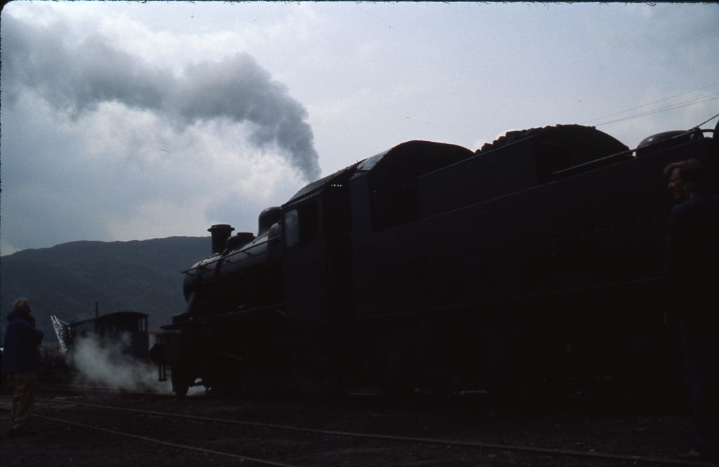 Ex-B.R. locomotive no. 46464 at Aviemore