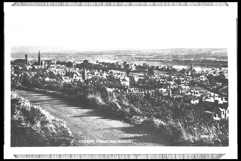 Crieff from the Knock.
