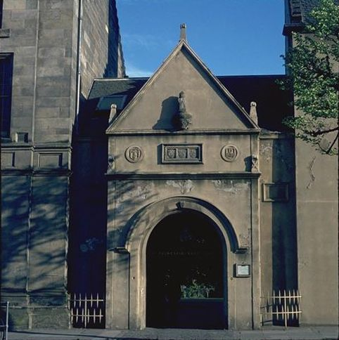 St Mary's College entrance, South Street side, St Andrews.