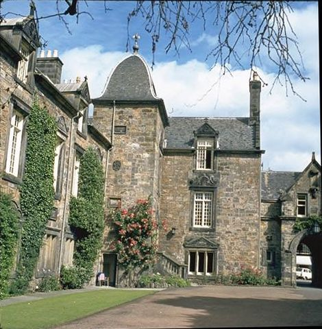 St Mary's College, the Principal's House, St Andrews.