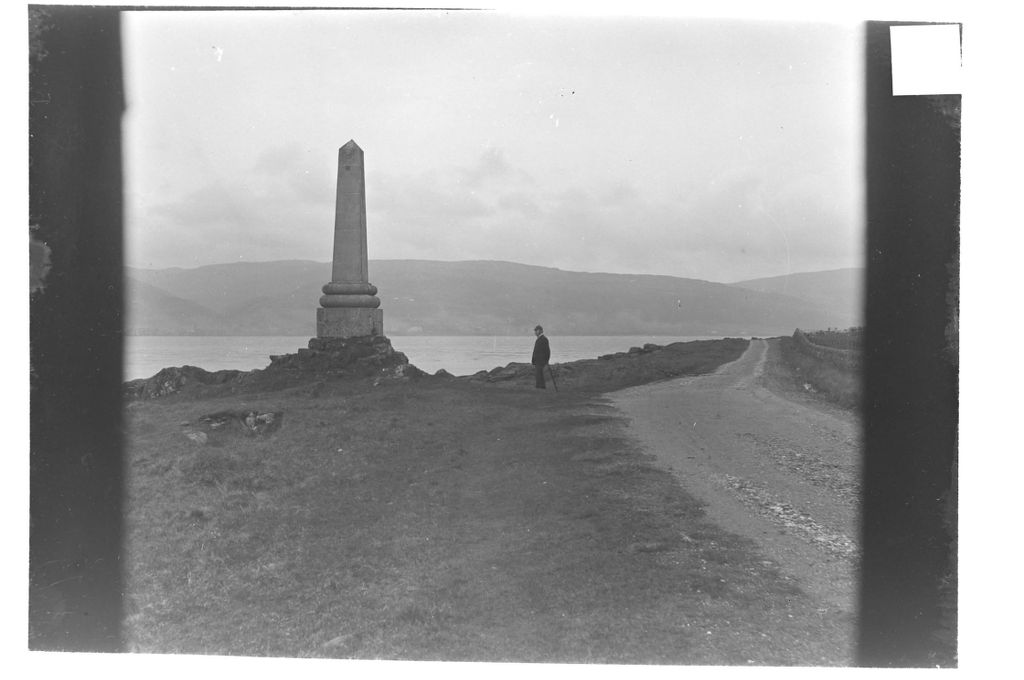 W.G.M. at the Monument [Tomont End, Great Cumbrae].