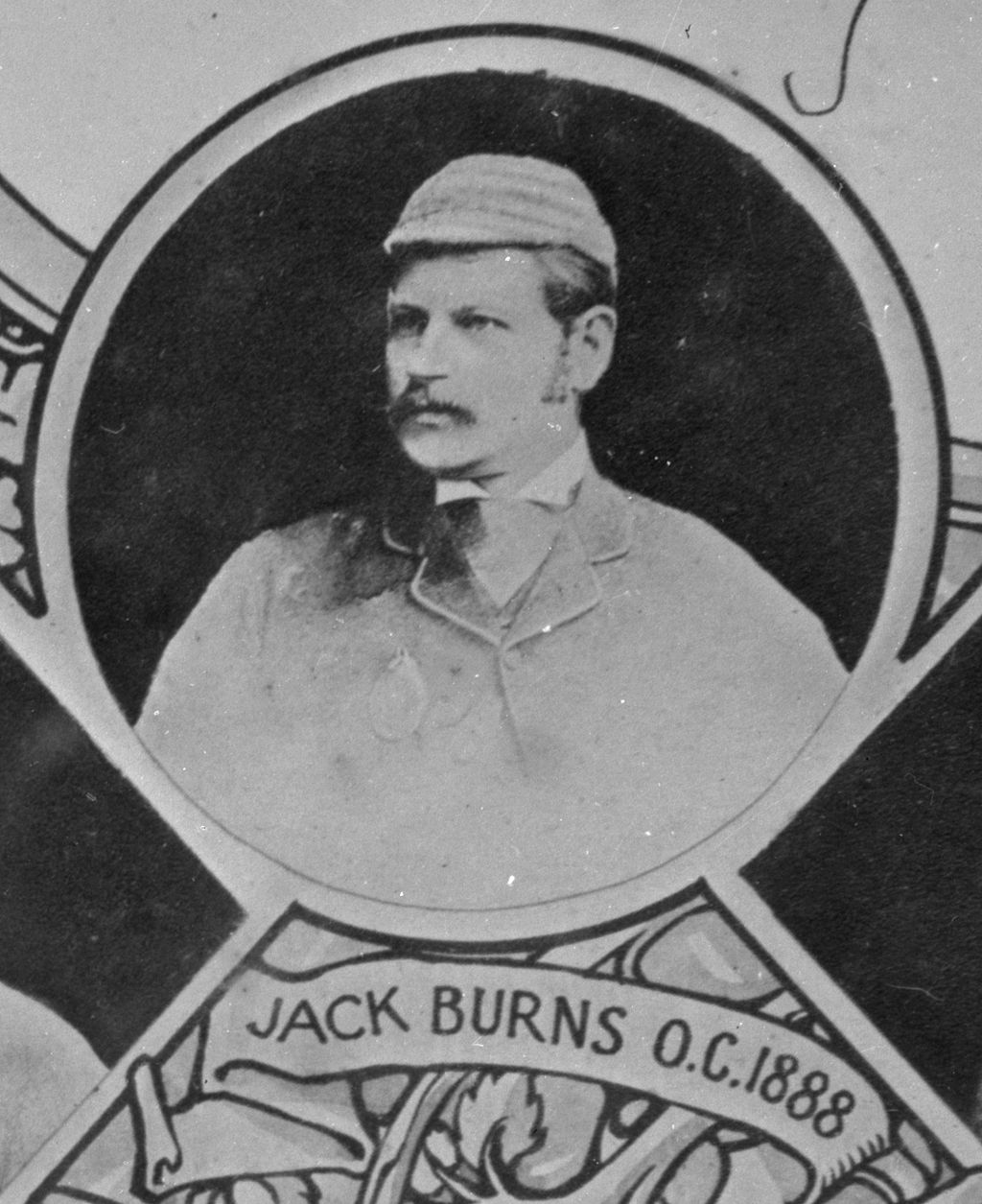 Jack Burns, Open Champion.