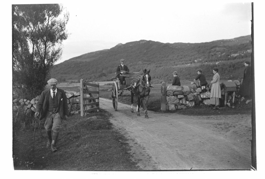 The arrival of the Royal Mail at 6pm, Creag a Mhadaidh [Loch Sween].