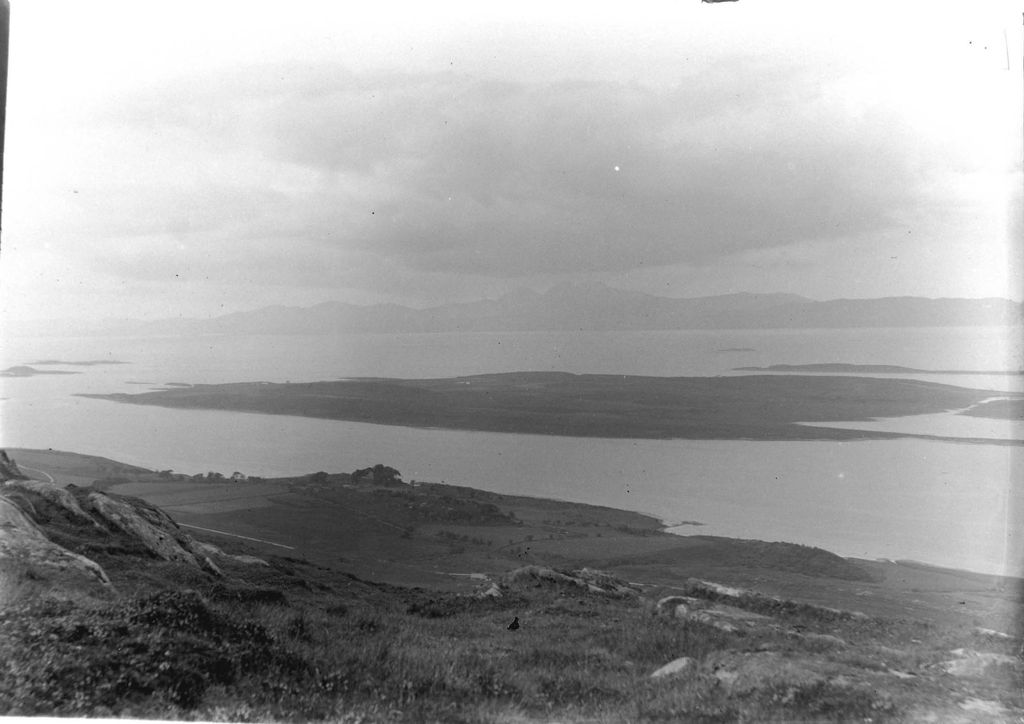 Loch Sween [looking South West to Jura from the hill behind Creag a Mhadaidh].