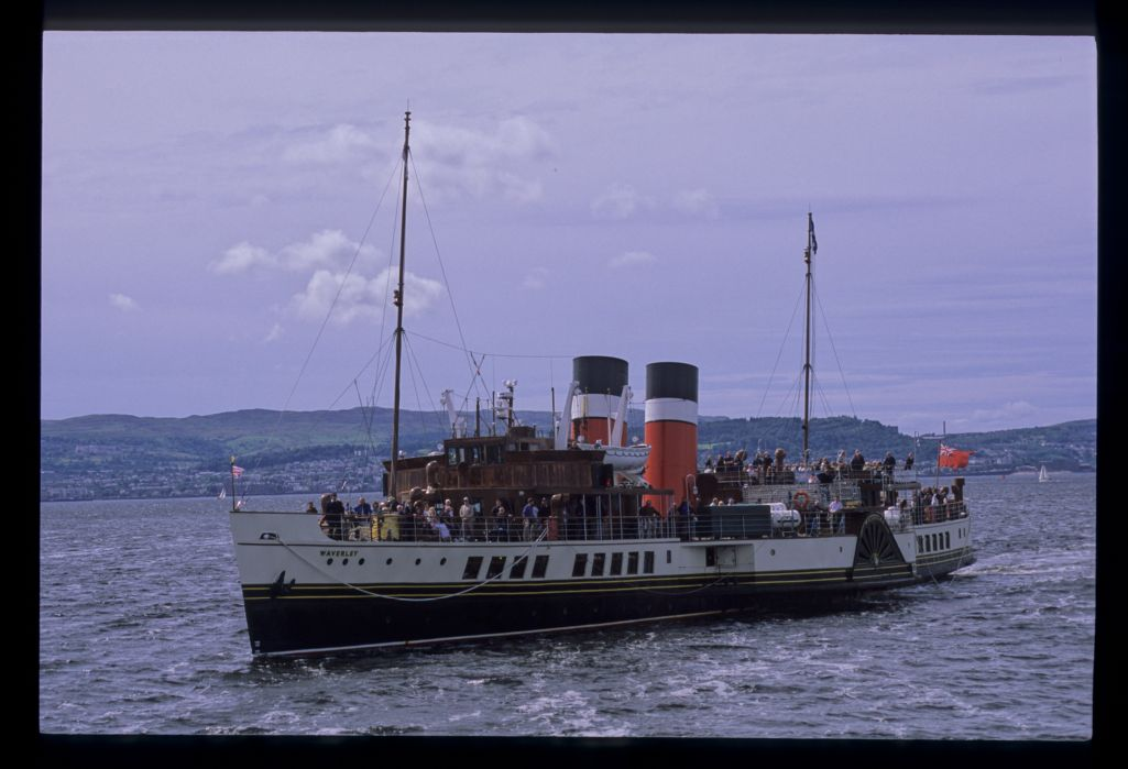 The PS Waverley at Helensburgh.