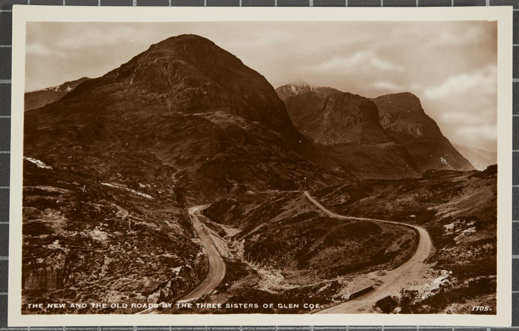 The New and the Old Roads by The Three Sisters of Glen Coe