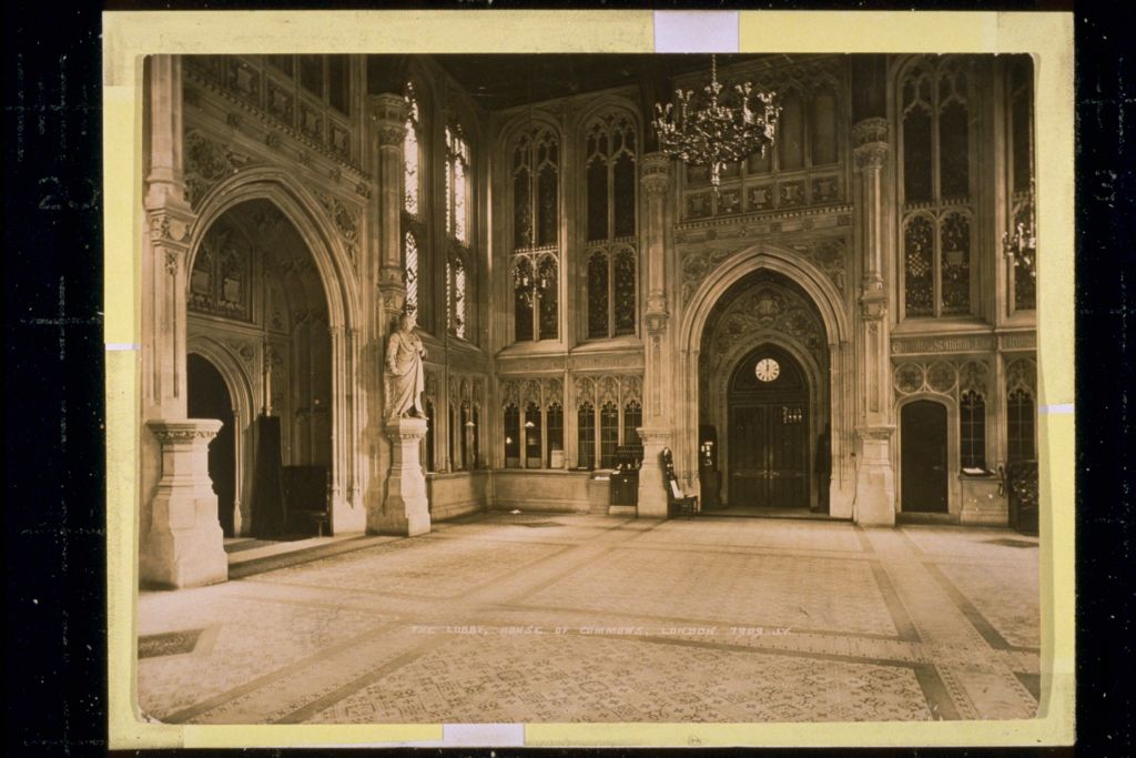 The Lobby, House of Commons.