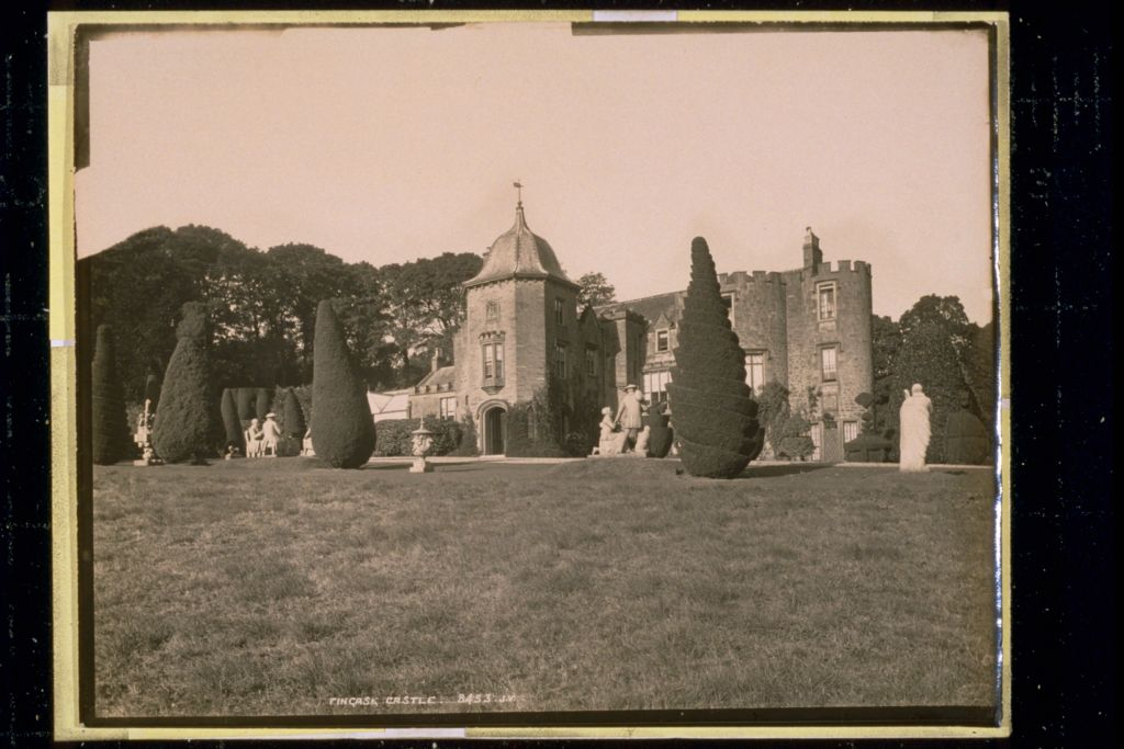 Fingask Castle.