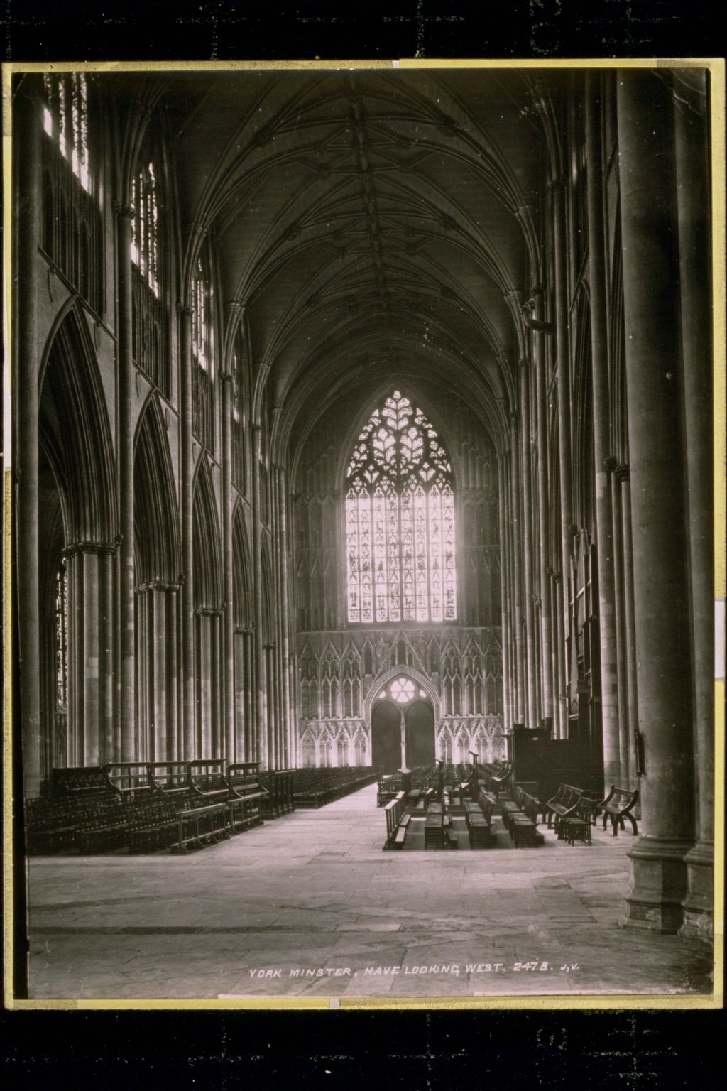 York Minster, the Nave
