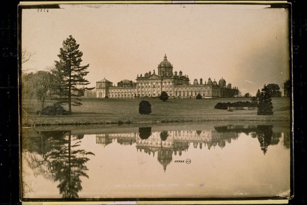 Castle Howard from the Lake.