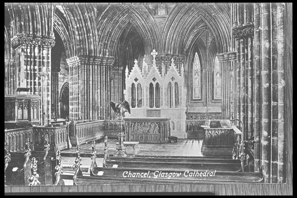 Chancel, Glasgow Cathedral.