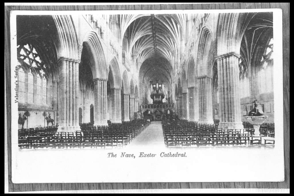 The nave, Exeter Cathedral.