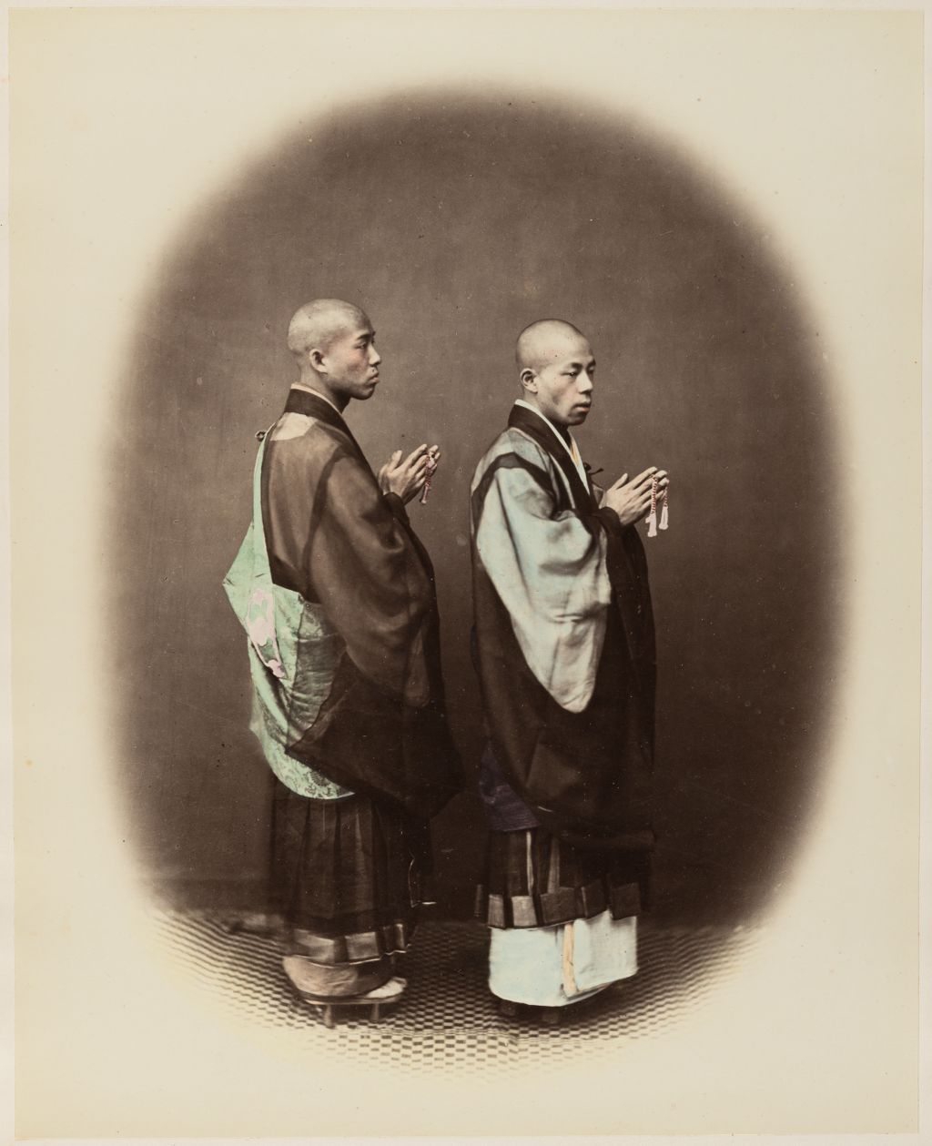 Two Monks Praying