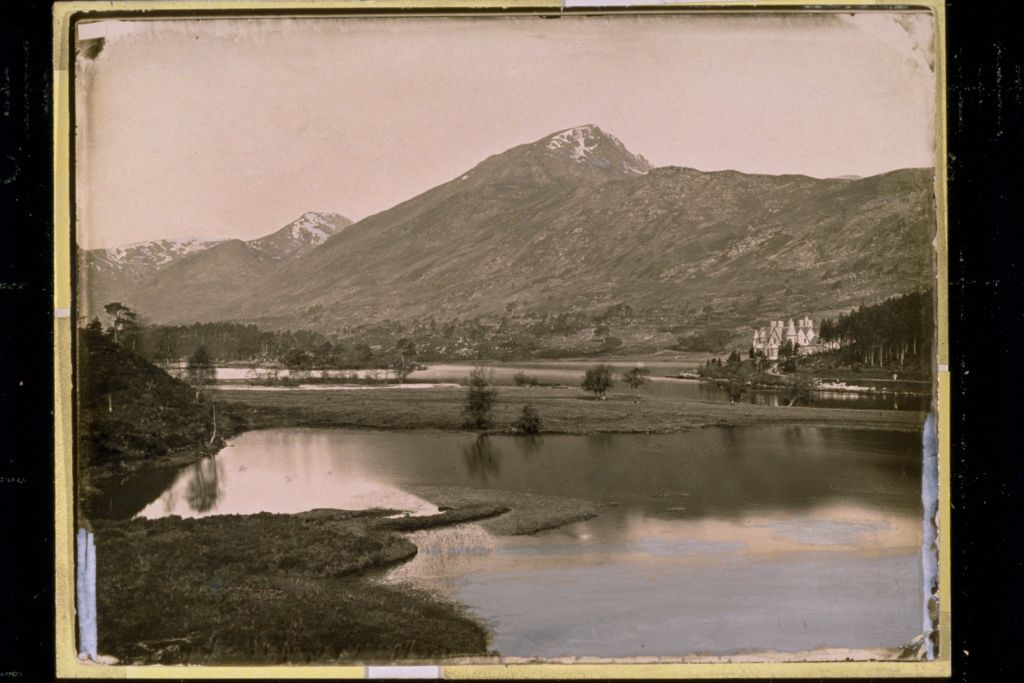 Loch Affric and Scour-na-Lapich.