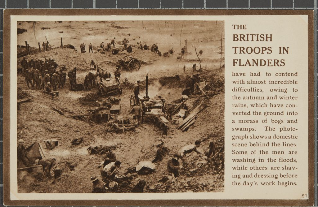 The British Troops in Flanders'.