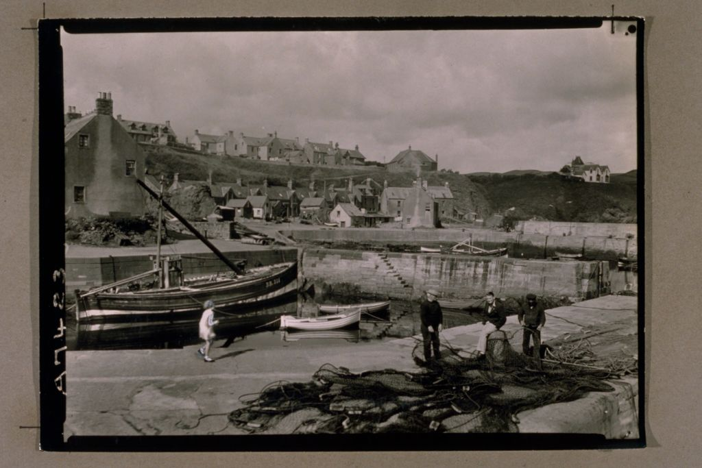 St Abbs from the Harbour.