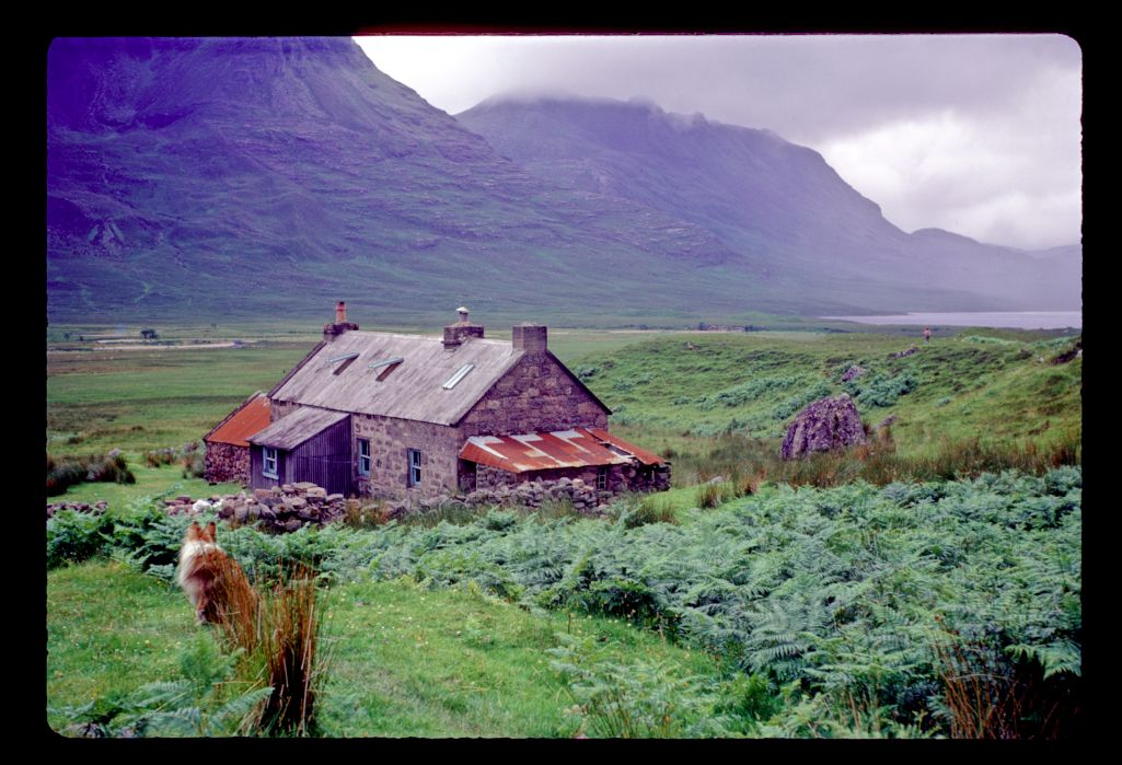 Kitchil at Shenevall Bothy, An Teallach,