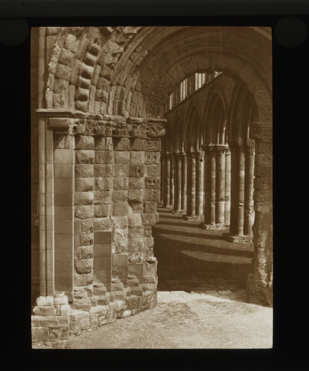 Jedburgh Abbey,West Door.