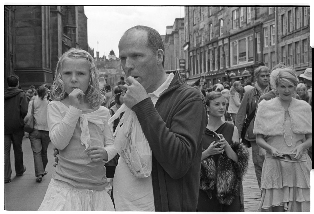 [Festival Street Performers, High Street, Edinburgh]