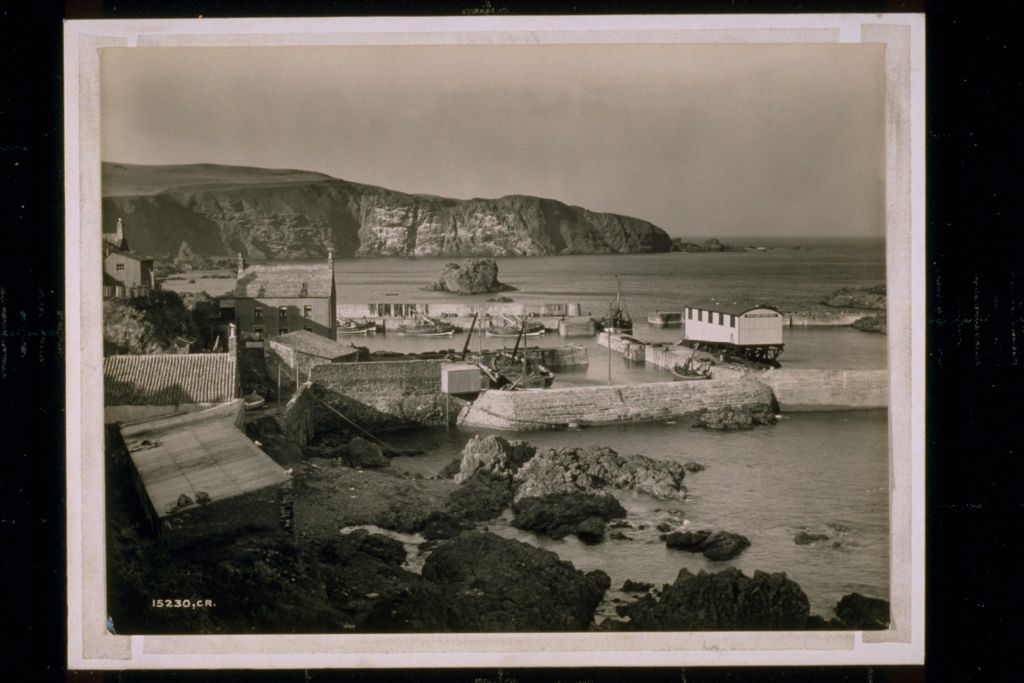 St Abbs Harbour & Headland.