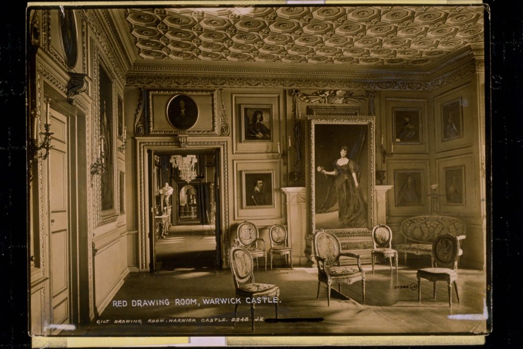 Drawing Room, Warwick Castle