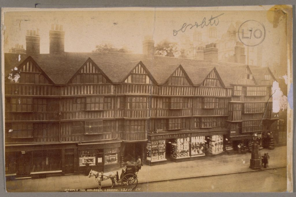 Staple Inn, Holborn.