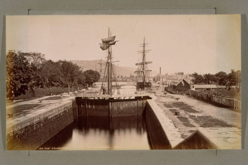 Caledonian Canal at Muirtown.