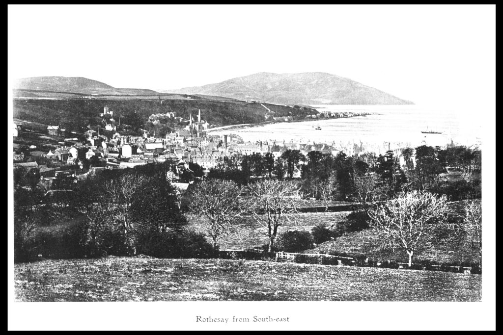 Rothesay from south east.