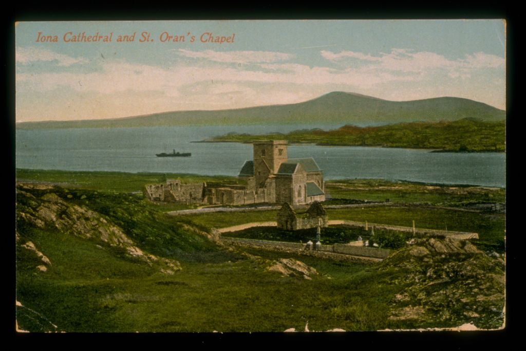 Iona Cathedral and St Oran's.