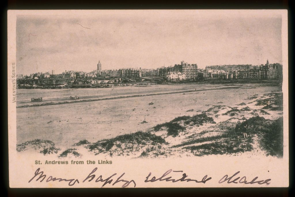 St Andrews from the Links.