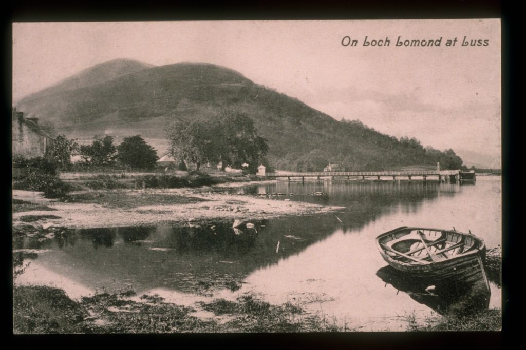 On Loch Lomond at Luss.