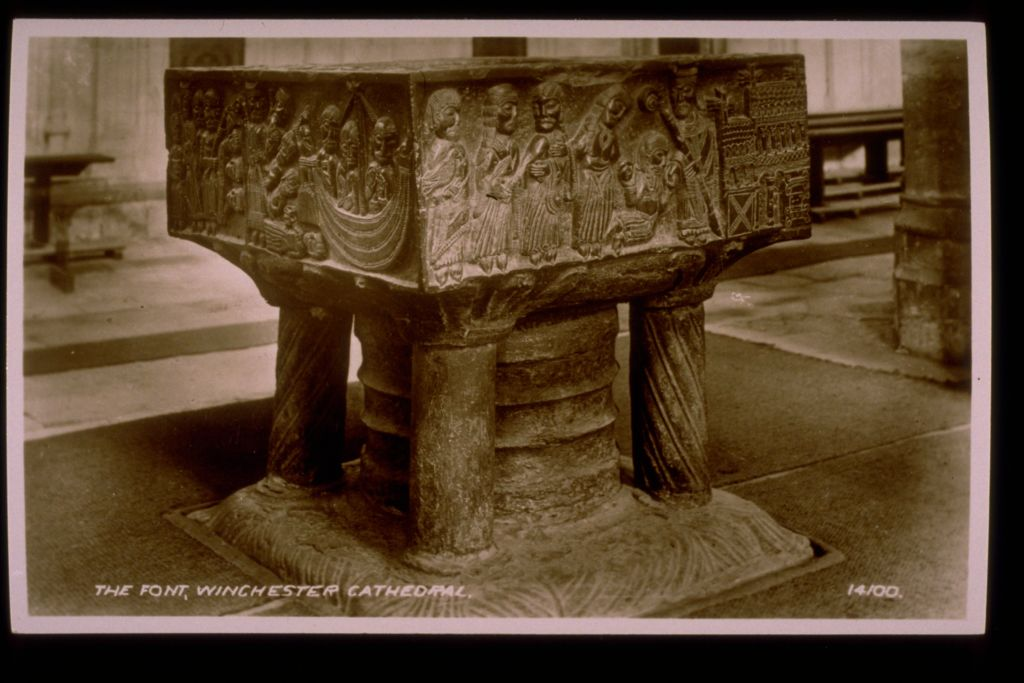 The Font, Winchester Cathedral.